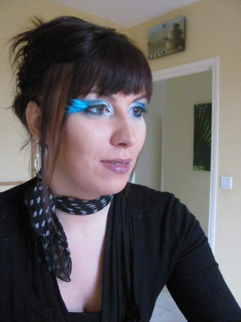 maquillage soirée thème